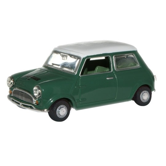Oxford Diecast | Mini dark green/white