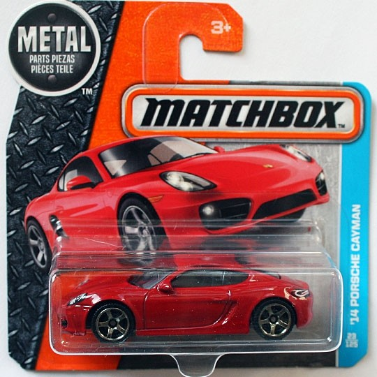 Matchbox | Porsche Cayman rot
