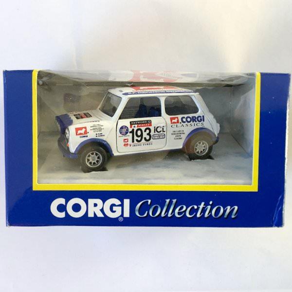 Corgi | 04402 Mini Corgi Rally #193 white