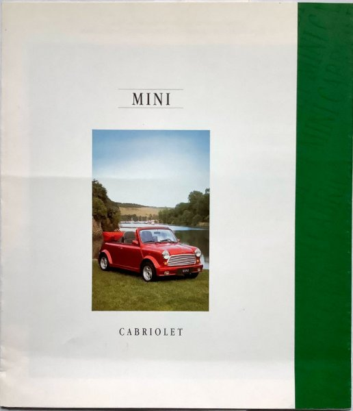 Rover Mini Cabriolet Prospekt 02/95
