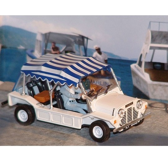 Fabbri - Mini Moke James Bond Diorama