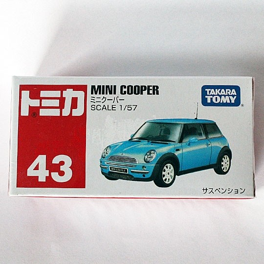 TOMY | BMW Mini Cooper blau metallic