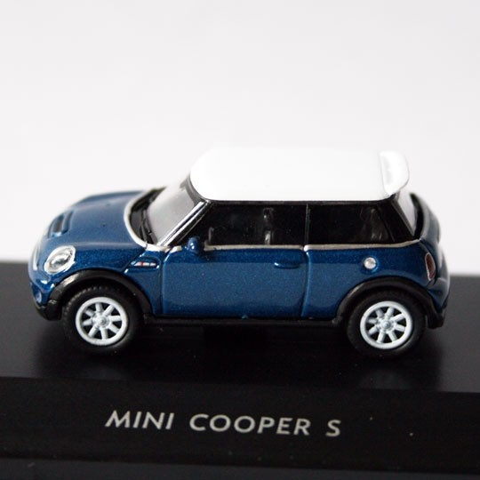 Welly | BMW MINI Cooper S blue metallic