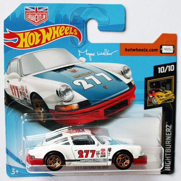 Hot Wheels | '71 Porsche 911 #277 Urban Outlaw rote Bodenplatte