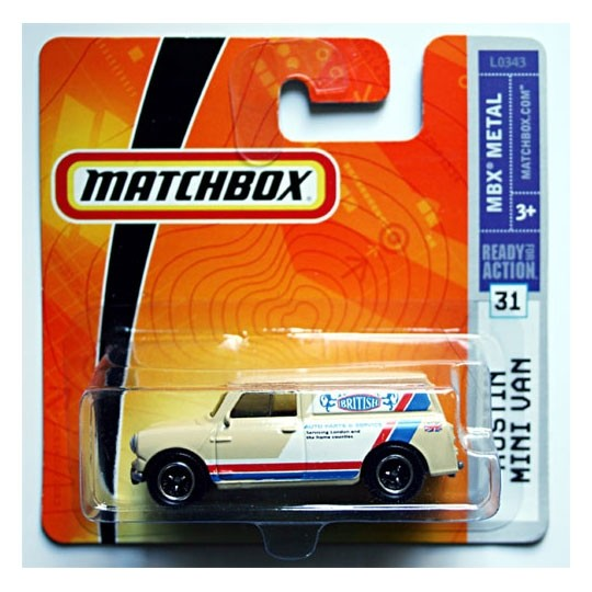 Matchbox | Austin Mini Van Authentic British