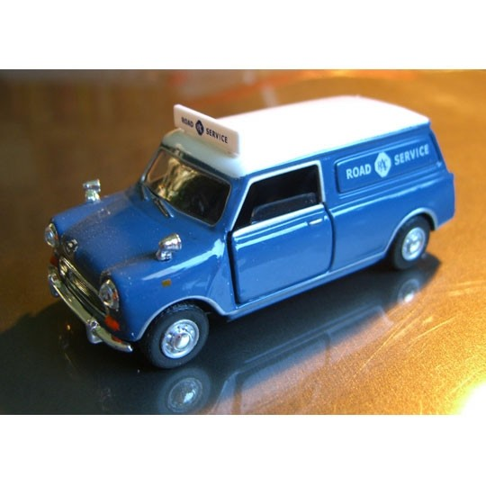 Cararama | Mini Van Road Service blue
