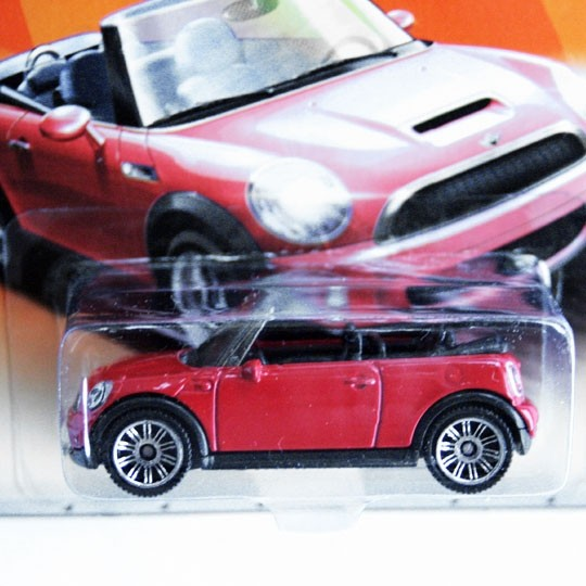 Matchbox | BMW MINI Cooper S Cabrio rot