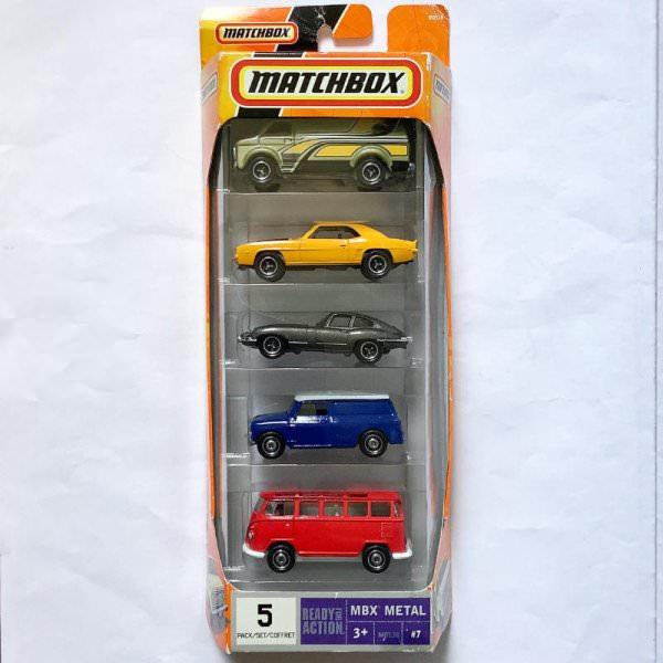 Matchbox   Austin Mini Van dark blue / white 5-Pack
