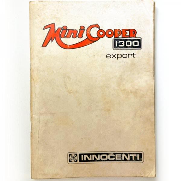 Innocenti Mini Cooper 1300 Betriebsanleitung deutsch