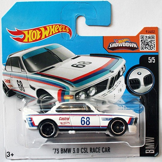 Hot Wheels | BMW CSL weiß