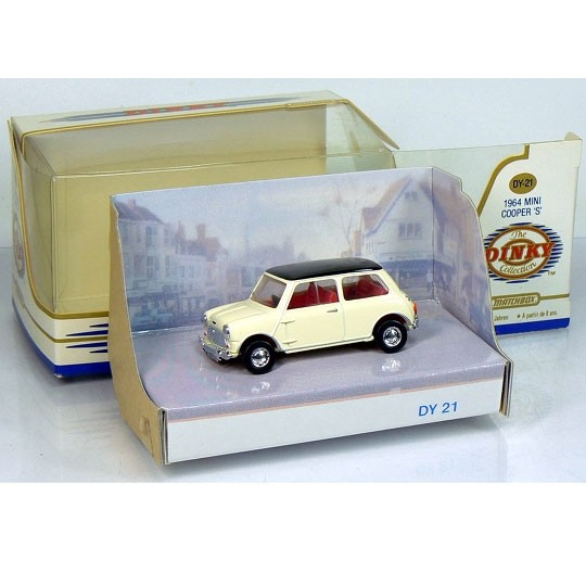 Dinky Matchbox | Mini Cooper white