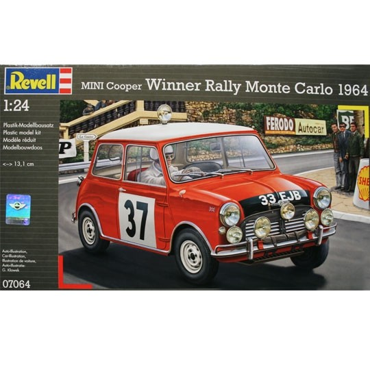 Revell | Mini Cooper Winner Monte Carlo Bausatz