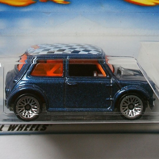 Hot Wheels | Mini Cooper blau US 1