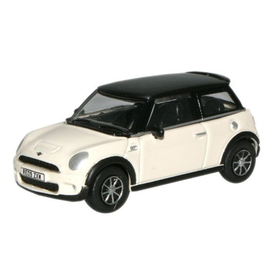 Oxford Diecast | BMW Mini Cooper S weiß