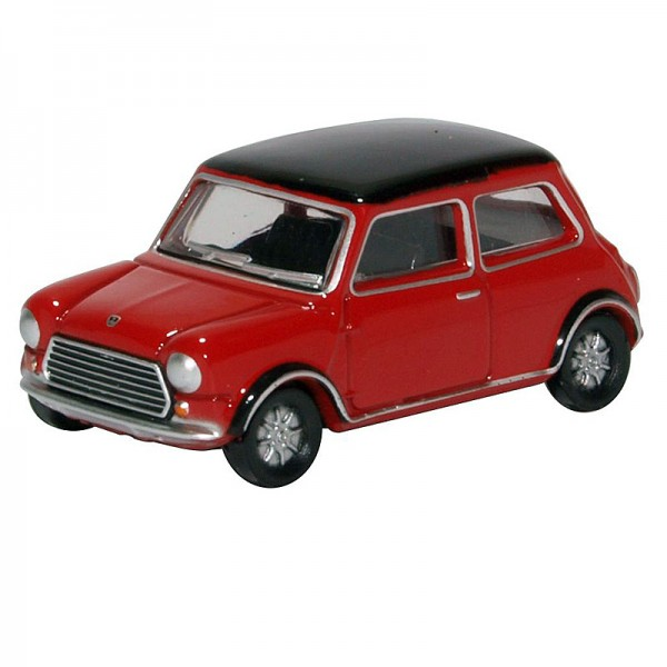 Oxford Diecast | Austin Mini Cooper MK II Tartan Red