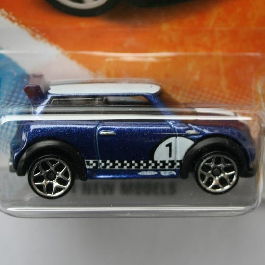 Hot Wheels Bmw Mini Cooper S Challenge Blue Us Different Scales
