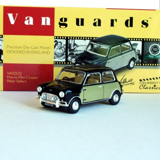 Vanguards | Morris Mini Cooper Peter Sellers