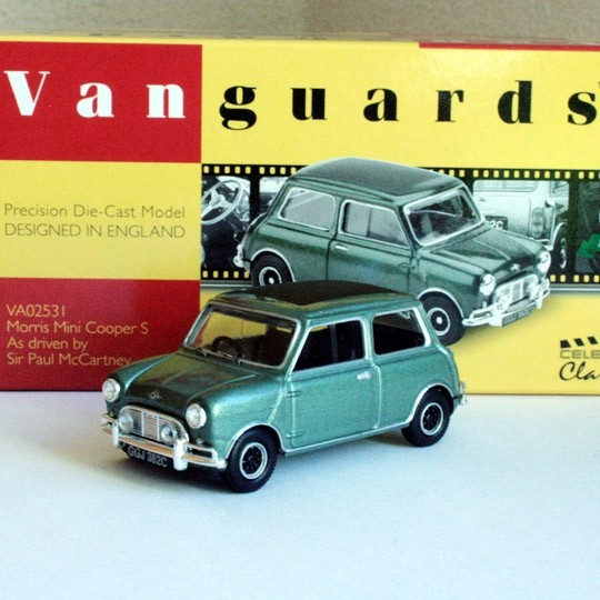 Vanguards | Morris Mini Cooper S Paul McCartney