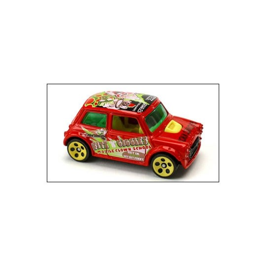 Hot Wheels | Mini Cooper Crazed Clowns DE