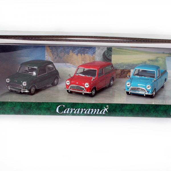 Cararama | 3er Set Mini, Mini Countryman & Mini Pickup