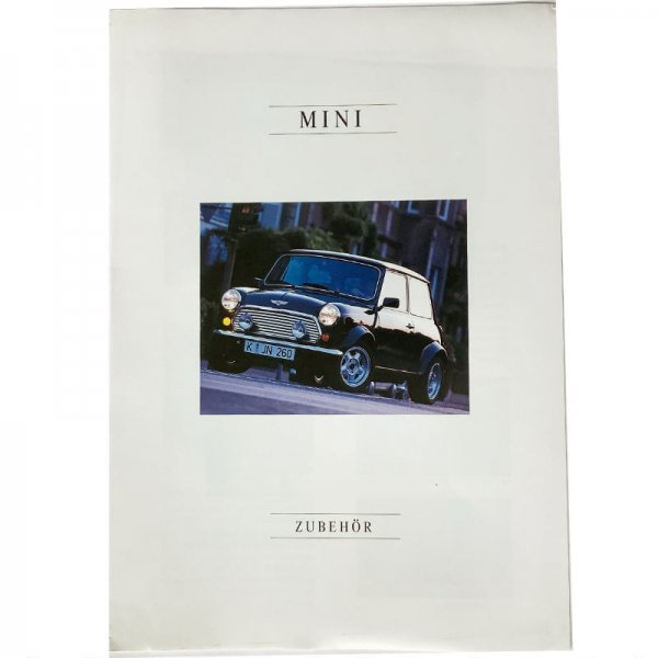 Prospekt Rover Mini Zubehör