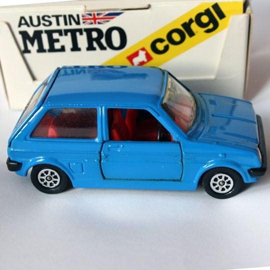 Corgi | Austin Mini Metro blau