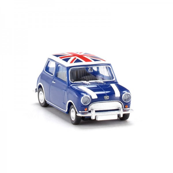 Wiking | Austin Mini Seven mit Union Jack Dach