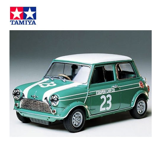 Tamiya | Morris Mini Copper Racing Kit