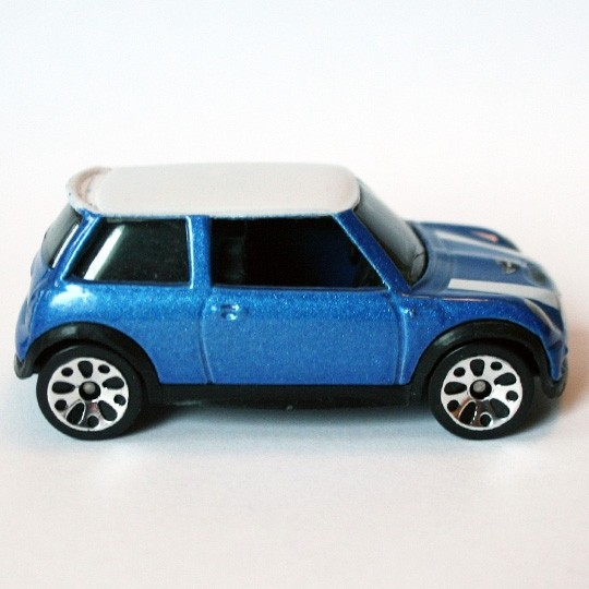 Matchbox | BMW Mini Cooper S blaumetallic