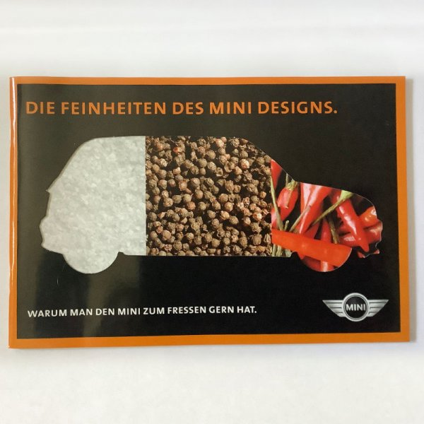 "MINI broshure ""Die Feinheiten des MINI Designs"""