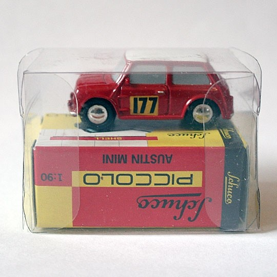 Schuco Piccolo | Austin Mini Monte Carlo #177