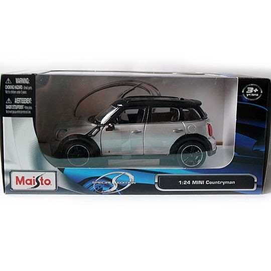 Maisto | BMW MINI Countryman silver