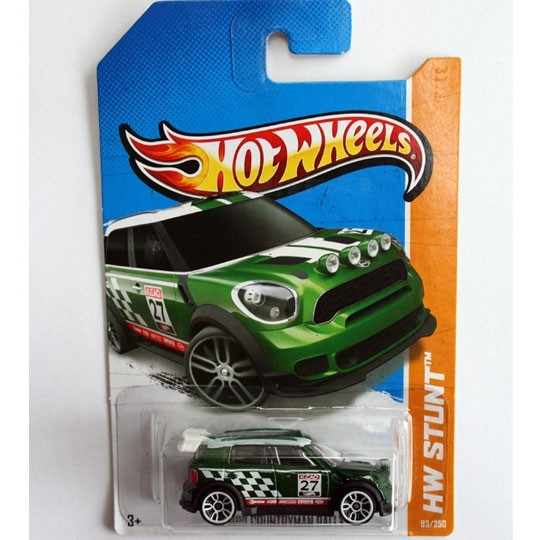 Hot Wheels | MINI Countryman Rally US green