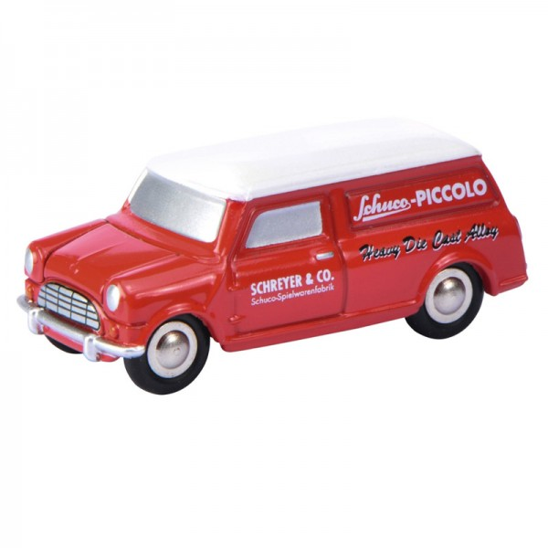 Schuco Piccolo | Mini Display I mit Mini Van und Morgan +8