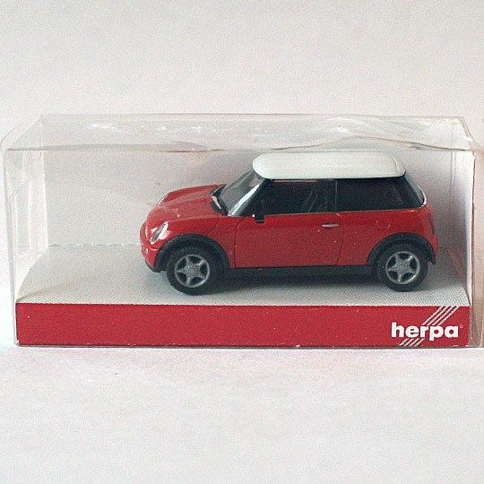 Herpa 024761  Mini Countryman ™ rot//red 1//87