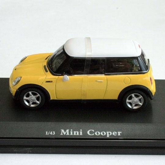 Cararama | Mini Cooper yellow