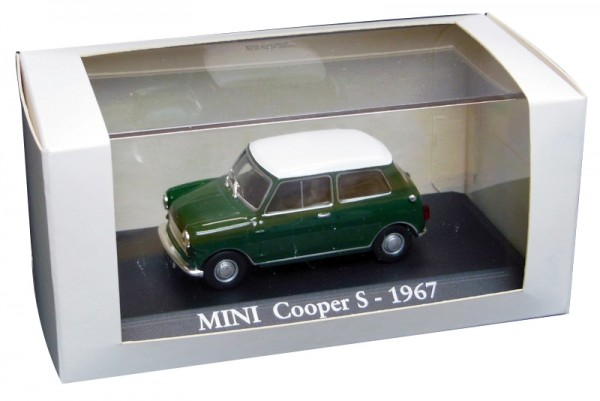 RBA Coleccionables | Austin Mini Cooper S green