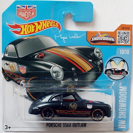 Hot Wheels | Porsche 356A Outlaw schwarz