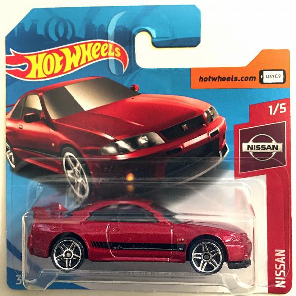 Hot Wheels | Nissan Skyline GT-R (BCNR33), rotmetallic