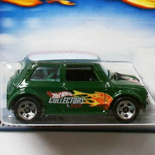 Hot Wheels | Mini Cooper grün HW Collectors