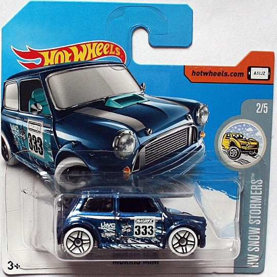 Hot Wheels | Morris Mini #333 Snow Stormer blaumetallic