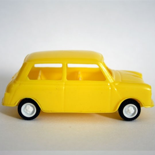 Grisoni | Mini Innocenti MK II yellow