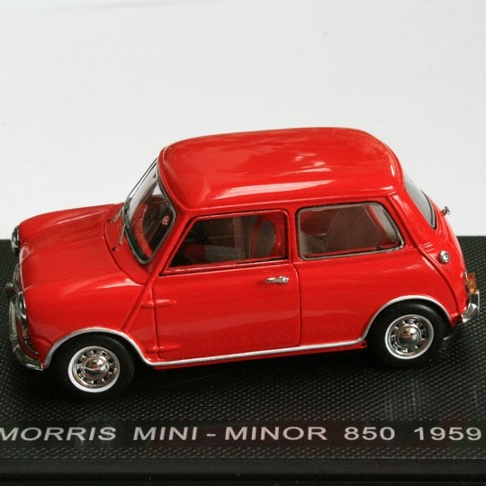 Ebbro | Morris Mini Minor 850 rot