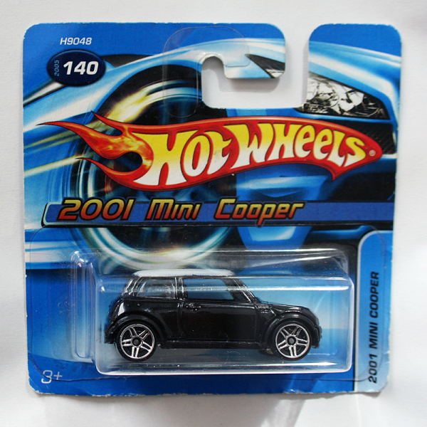 Hot Wheels | New Mini Cooper schwarz