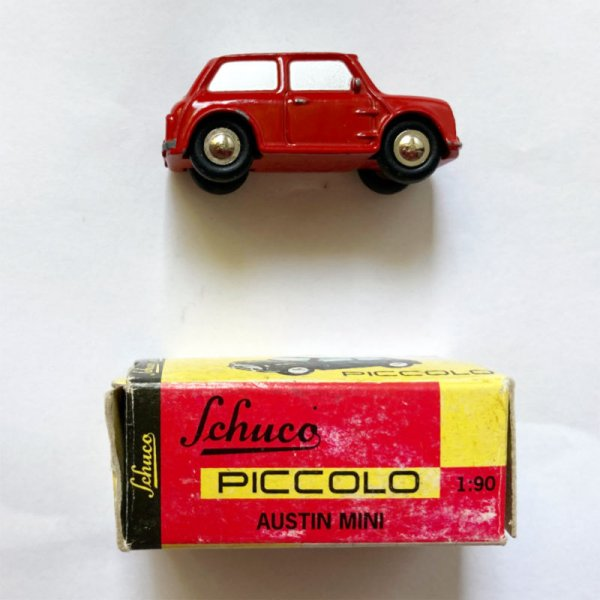 Schuco Piccolo | Austin Mini rot gebraucht
