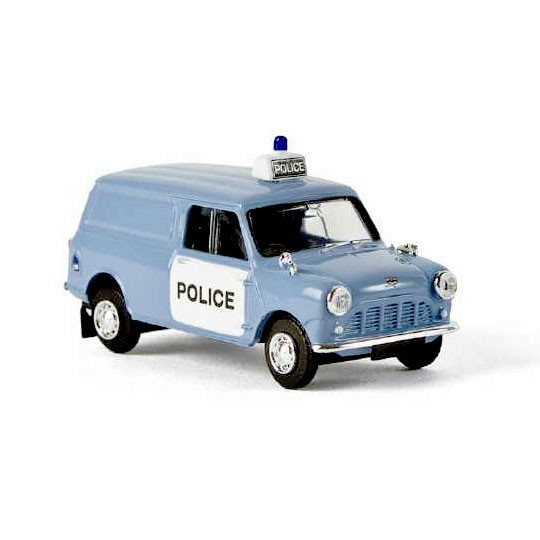 Brekina | Austin Mini Van Panda Police RHD