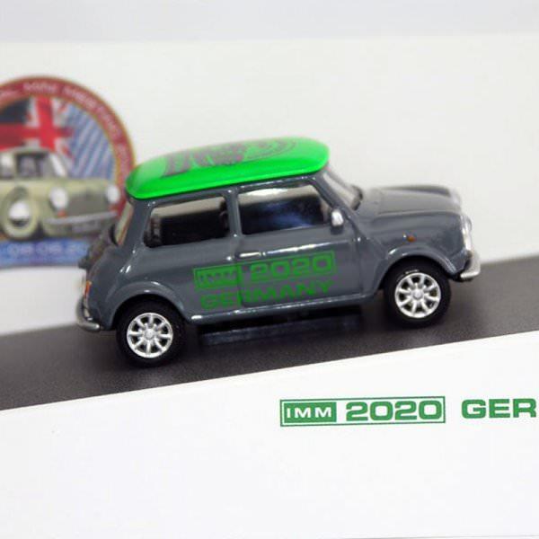 Schuco   Mini Cooper IMM 2020 grau / giftgrün