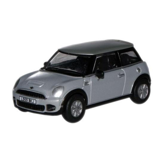 Oxford Diecast | BMW Mini Cooper S silber