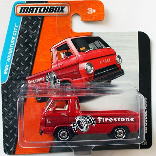Matchbox | Dodge A100 Firestone