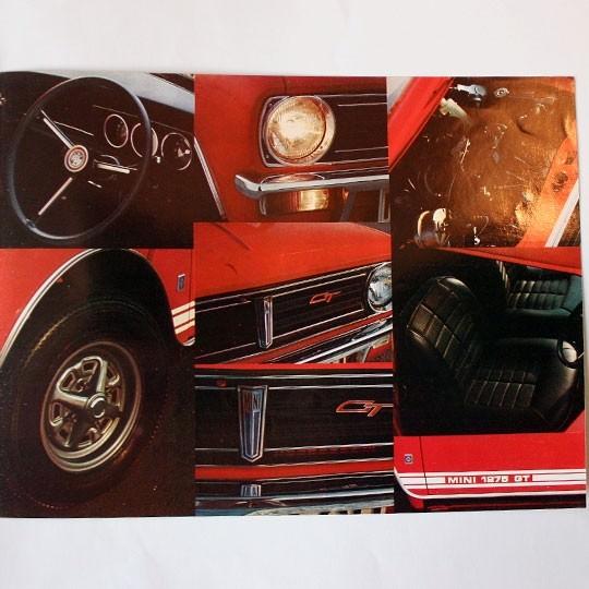 Mini Clubman 1275 Gt Broshure Uk Mini Brochures Minimodelle24de